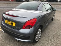 USED 2008 PEUGEOT 207 1.6 GT COUPE CABRIOLET 2d 118 BHP