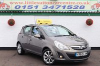 USED 2012 62 VAUXHALL CORSA 1.2 ACTIVE AC CDTI ECOFLEX 5d 74 BHP FULL SERVICE HISTORY, DIESEL, 2 OWNERS