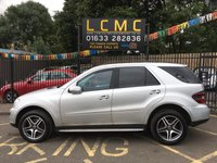 USED 2007 07 MERCEDES-BENZ M CLASS 4.0 ML420 CDI SPORT 5d AUTO 302 BHP DETACHABLE TOWBAR, EXCEPTIONALLY CLEAN FOR AGE AND MILEAGE, STUNNING SILVER METALLIC PAINT WORK, HALF ARTICO AND SUEDE INTERIOR, SAT NAV, 19 INCH POLISHED ALLOY WHEELS, CRUISE CONTROL, LOTS OF MERCEDES SERVICE HISTORY