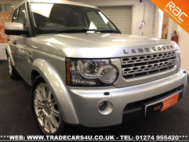 2012 12 LAND ROVER DISCOVERY 4 3.0 SDV6 HSE 8 SPEED AUTO FACELIFT 7 SEATER