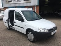 2011 VAUXHALL COMBO VAN 1 OWNER FACTORY FITTED 5 SEAT CREW CAB VERY CLEAN £3995.00