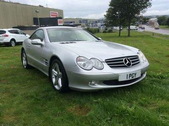 2002 MERCEDES-BENZ SL 5.0 SL500 2d AUTO 306 BHP £9995.00