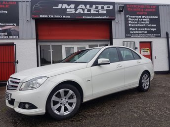 2012 MERCEDES-BENZ C CLASS 2.1 C220 CDI BLUEEFFICIENCY SE 4d 168 BHP £6650.00