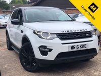 USED 2016 16 LAND ROVER DISCOVERY SPORT 2.0 TD4 HSE BLACK 5dr AUTO 180 BHP 7 Seats, Full Land Rover history. Pan Roof, Reverse camera.