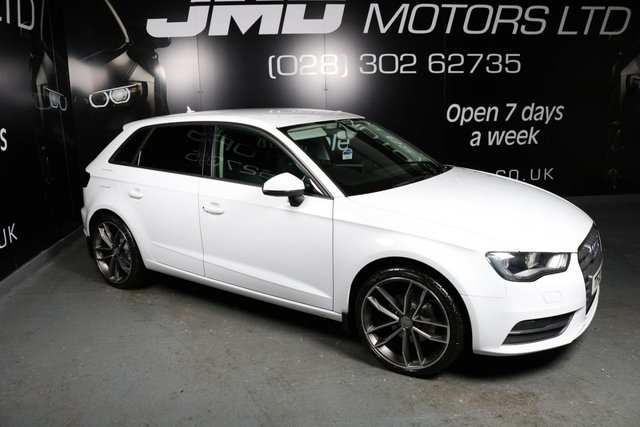 2014 AUDI A3 2.0 TDI SE BLACK EDITION STYLE 5d 148 BHP (FINANCE AND WARRANTY)