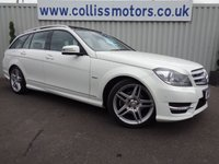 USED 2012 61 MERCEDES-BENZ C CLASS 2.1 C220 CDI BLUEEFFICIENCY SPORT 5d AUTO 168 BHP