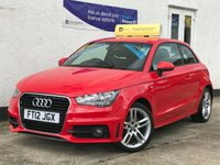 USED 2012 12 AUDI A1 1.4 TFSI S LINE 3d AUTO 122 BHP Automatic! Great Spec! - S-Line!