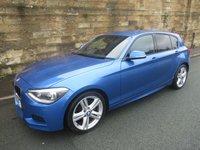 2013 BMW 1 SERIES 2.0 120D M SPORT 5d 181 BHP £8490.00