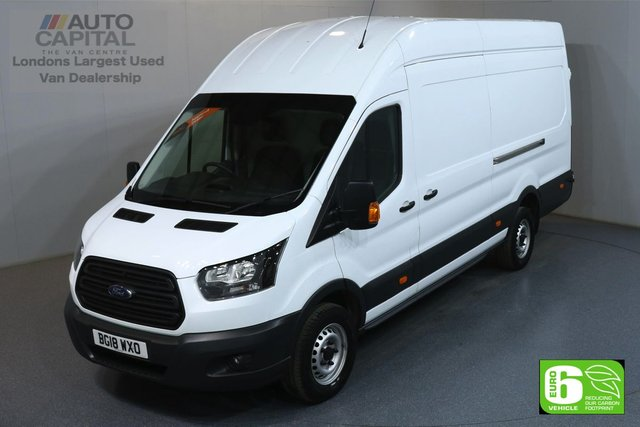 2018 18 FORD TRANSIT 2.0 350 L4 H3 EXTRA LWB JUMBO 129 BHP RWD EURO 6 ENGINE MANUFACTURER WARRANTY UNTIL 30/05/2021