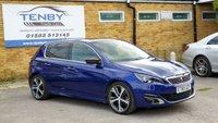 2015 PEUGEOT 308 1.2 PURETECH S/S GT LINE 5d AUTO 130 BHP £10984.00