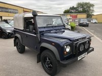 2004 LAND ROVER DEFENDER 90 PICK-UP TD5 2500 cc 2dr 122 BHP £11995.00