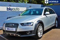 USED 2014 14 AUDI A4 ALLROAD 3.0 TDI QUATTRO 5d AUTO 241 BHP A stunning Audi A4 Quattro All-Road with Panoramic Sun-Roof, Technology Pack (Navigation, Front & Rear Sensors, Cruise Control & DAB), Full Leather Interior with Heated Front Seats and a Full Audi Service History...