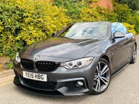 USED 2015 15 BMW 4 SERIES 2.0 428i M Sport 2dr PERFORMANCE KIT 19S HK HT STRN