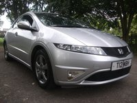 USED 2010 T HONDA CIVIC 1.3 I-VTEC SI 5d 98 BHP HALF LEATHER = 12 MONTHS MOT = SOME SCRACHES ON BODY HALF LEATHER ++ SMALL ENGINE LOW INSURANCE AND LOW TAX BAND ++ SOME SCRATCHES