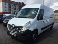 USED 2016 16 RENAULT MASTER 2.3 LM35 BUSINESS DCI S/R P/V 1d 125 BHP