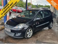 USED 2006 56 FORD FIESTA 1.4 FREEDOM 16V 5 DOOR  ** ONLY 1 OWNER **