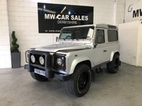 2006 LAND ROVER DEFENDER 2.5 90 TD5 SILVER STATION WAGON 3d 120 BHP £19991.00