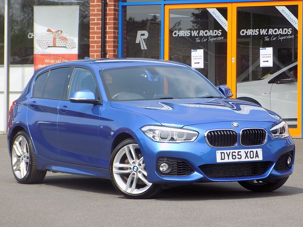 USED 2015 65 BMW 1 SERIES 2.0 120d M Sport ** Bluetooth + DAB + Air Con **