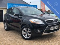 USED 2010 60 FORD KUGA 2.0 ZETEC TDCI Stunning Kuga in Panther Black with Alloys
