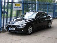 USED 2015 15 BMW 3 SERIES 2.0 320D EFFICIENTDYNAMICS 4d 161 BHP SatNav,Alloys,cruise control,isofix and service history