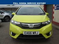 "USED 2016 66 HONDA JAZZ 1.3 I-VTEC SE 5d 101 BHP 7"" TOUCH SCREEN - DAB RADIO"