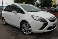 USED 2016 16 VAUXHALL ZAFIRA TOURER 1.4 SRI 5d 138 BHP LOW MILES - FULL SERVICE HISTORY - ONLY ONE OWNER - SUPER VALUE FOR MONEY
