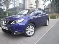 USED 2014 64 NISSAN QASHQAI 1.2 ACENTA PREMIUM DIG-T 5d 113 BHP *** FINANCE & PART EXCHANGE WELCOME *** SAT/NAV REVERSE CAMERA PANORAMIC ROOF BLUETOOTH PHONE PARKING SENSORS DAB RADIO