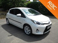 USED 2012 12 TOYOTA YARIS 1.5 T SPIRIT HYBRID 5d AUTO 75 BHP Part Ex To Clear - Minor Marks   Comes With One Key, Sat Nav, Alloy Wheels