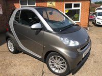 USED 2010 10 SMART FORTWO 0.8 PASSION CDI 2d AUTO 54 BHP