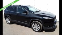 USED 2015 65 JEEP CHEROKEE 2.2 M-JET II LIMITED 5d AUTOMATIC 4x4 197 BHP FOUR WHEEL DRIVE