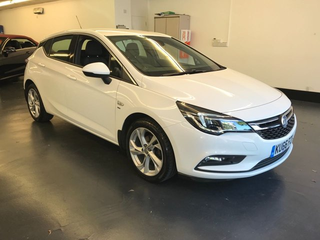 USED 2016 66 VAUXHALL ASTRA 1.0 SRI ECOFLEX S/S 5d 104 BHP 1 OWNER FROM NEW, BLUETOOTH PHONE AND AUDIO