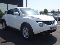 USED 2012 62 NISSAN JUKE 1.6 ACENTA PREMIUM 5d 117 BHP MOT AND SERVICE AND AA WARRANTY INCLUDED