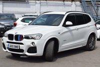 USED 2015 15 BMW X3 2.0 20d M Sport xDrive 5dr FSH,SATNAV,FINANCE,WARRANTY