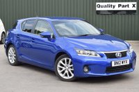 USED 2012 12 LEXUS CT 1.8 SE-L CVT 5dr FSH,LEATHER,ULEZ,AUTO