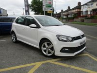2014 VOLKSWAGEN POLO 1.2 R-LINE STYLE AC 5d 69 BHP £6988.00
