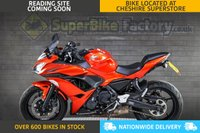 USED 2017 67 KAWASAKI NINJA 650 - ALL TYPES OF CREDIT ACCEPTED. GOOD & BAD CREDIT ACCEPTED, OVER 600+ BIKES IN STOCK