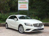 USED 2013 63 MERCEDES-BENZ A CLASS 1.5 A180 CDI BLUEEFFICIENCY SE 5dr Sat Nav, 1/2 Leather, £0 Tax!