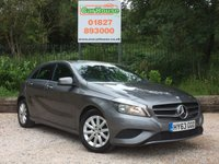 USED 2013 63 MERCEDES-BENZ A CLASS 1.5 A180 CDI BLUEEFFICIENCY SE 5dr Half Leather, £0 Tax!