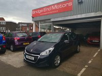 USED 2016 16 PEUGEOT 208 1.2 PURETECH S/S ACTIVE 5d AUTO 82 BHP ONLY 12589 MILES FROM NEW! SPEC INCLUDES ALLOYS, AIR CONDITIONING, GEAR SHIFT PADDLES, REMOTE CENTRAL LOCKING AND DAYTIME RUNNING LIGHTS! £0 TAX AND MEETS LARGE CITY EMISSION STANDARDS!