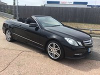 USED 2013 13 MERCEDES-BENZ E CLASS 2.1 E220 CDI BLUEEFFICIENCY SPORT 2d AUTO 170 BHP
