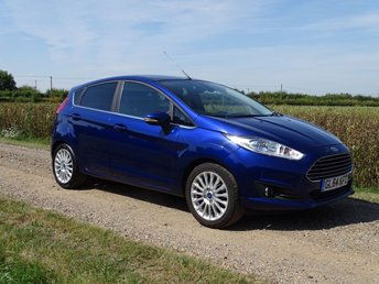 2014 FORD FIESTA 1.0 TITANIUM 5d £0 Road Tax 65 MPG £7495.00