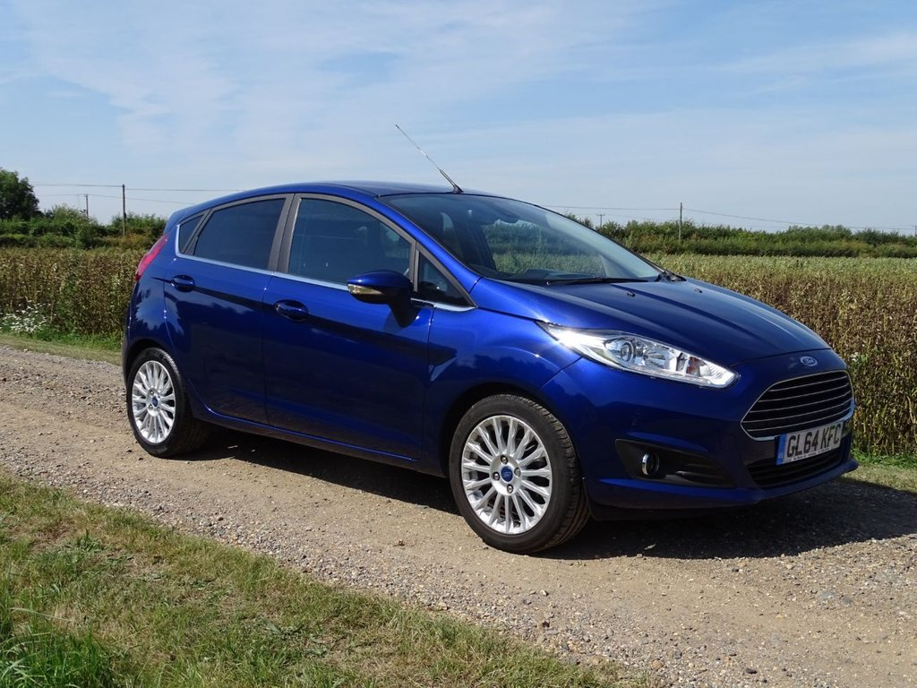 USED 2014 64 FORD FIESTA 1.0 TITANIUM 5d £0 Road Tax 65 MPG