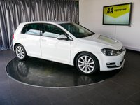 USED 2013 63 VOLKSWAGEN GOLF 2.0 GT TDI BLUEMOTION TECHNOLOGY 5d 148 BHP £0 DEPOSIT FINANCE AVAILABLE, AIR CONDITIONING, AUTOMATIC HEADLIGHTS, AUX INPUT, BLUETOOTH CONNECTIVITY, CLIMATE CONTROL, CRUISE CONTROL, DAB RADIO, DAYTIME RUNNING LIGHTS, DRIVE PERFORMANCE CONTROL, ELECTRONIC PARKING BRAKE WITH AUTO HOLD, HEATED DOOR MIRRORS, PARKING SENSORS, START/STOP SYSTEM, STEERING WHEEL CONTROLS, TOUCH SCREEN HEAD UNIT, TRIP COMPUTER