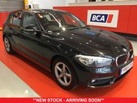 USED 2015 65 BMW 1 SERIES 1.5 116D ED PLUS 5d 114 BHP +ONE OWNER +SAT NAV +FREE TAX.