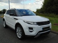 USED 2015 65 LAND ROVER RANGE ROVER EVOQUE 2.2 SD4 DYNAMIC LUX 5d AUTO 190 BHP DUAL VIEW TV, PAN ROOF, SAT NAV