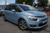 USED 2016 16 CITROEN C4 GRAND PICASSO 1.6 BLUEHDI EXCLUSIVE 5d AUTO 118 BHP JUST ONE OWNER FROM NEW - SERVICE HISTORY - EXCELLENT SPECIFICATION - MUST BE SEEN