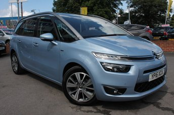 2016 CITROEN C4 GRAND PICASSO 1.6 BLUEHDI EXCLUSIVE 5d AUTO 118 BHP £12987.00