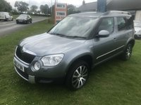 2013 SKODA YETI 2.0 TDI 170 CR 4x4  ONE OWNER FSH LAURIN AND KLEMENT £9495.00