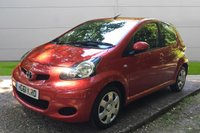 USED 2011 61 TOYOTA AYGO 1.0 VVT-I ICE 5d 68 BHP 1 OWNER LOW MILEAGE, AIR CON, FINANCE ME TODAY-UK DELIVERY POSSIBLE