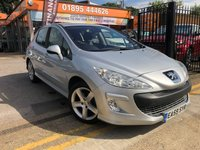 USED 2009 59 PEUGEOT 308 1.6 SPORT HDI 5d 107 BHP PART EXCHANGE TO CLEAR